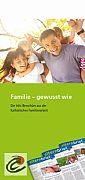 Faltblatt für Familien - Familie - gewusst wie.